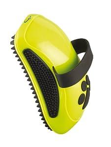 FURminator Striegel für Hunde, Fellpflege Hundebürste zum Ausbürsten von Staub und losem Haar für gesundes glänzendes Fell, mit Gummi Noppen und ergonisch geformtem Griff von Hersteller Furminator