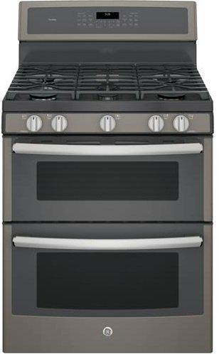 GE-PGB960EEJES-Profile-30-Slate-Gas-Sealed-Burner-Double-Oven-Range