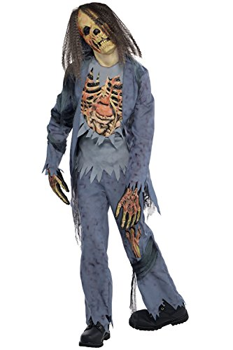 Zombie Corpse Childs Fancy Dress Costume Halloween Party Costume