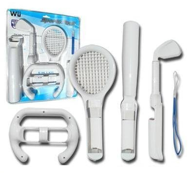 6 in 1 Sports Pack for Nintendo Wii Video Game