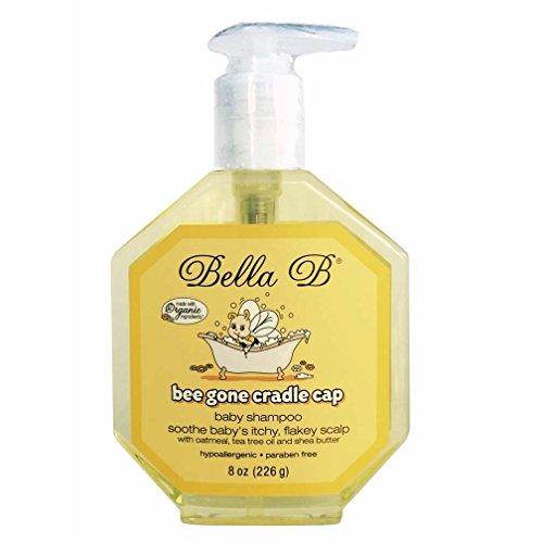 Bella B Bee Gone Cradle Cap Foaming Shampoo - 8 oz