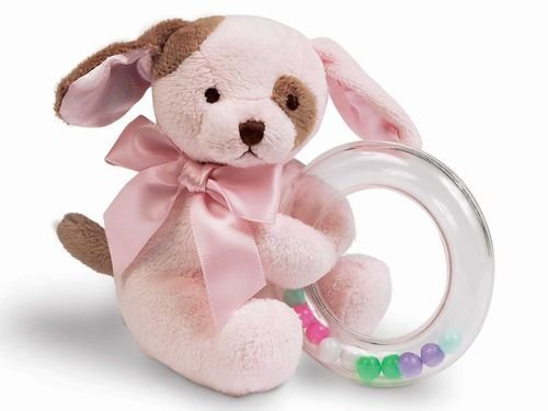 Bearington Bears Wiggles Shaker Ring Rattle