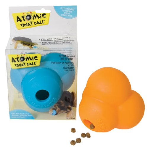 Our Pets DT-10175 Atomic Dog Treat Ball - 5 Inch