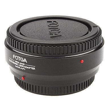 New Fotga Metal Electronic Lens Adapter For Olympus M43 Lens- Micro 4/3 Camera