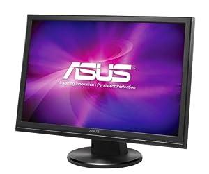 Asus VW220T 55,9 cm (22 Zoll) (21,6 Zoll) WSXGA+ Widescreen TFT Monitor DVI-D, VGA (Kontrastverhältnis 1000:1, Reaktionszeit 5ms) schwarz