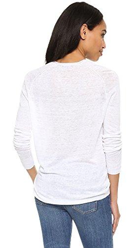 Theory Women's Adrianna Sweater, White, Small