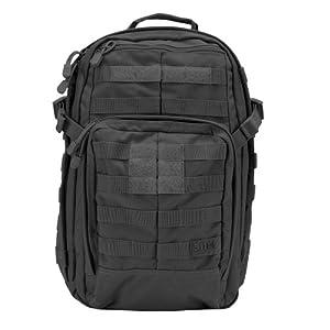 5.11 Tactical Rush 12 Backpack, Black