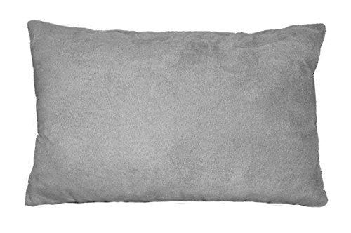 douceur-dinterieur-coussin-suede-polyester-fibre-gris-clair-30-x-20-x-50-cm