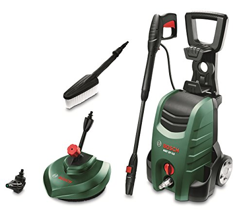 Bosch AQT 37-13 Plus 1700-Watt Home and Car Washer (Green, Black and Red)