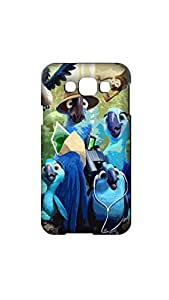 Funny Jungal Love Stylish Mobile Case/Cover For Samsung Galaxy E7