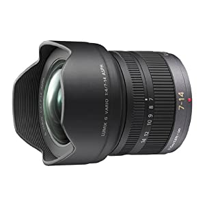 Panasonic 7-14mm f/4.0 Micro Four Thirds Lens for Panasonic Digital SLR Cameras
