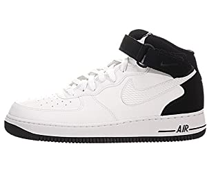 Nike Air Force 1 Mid '07 Basketball Shoes White Mens