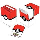 Ultra Pro Pokemon Card Supplies Deck Box Red & White Pokeball