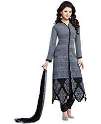 Shree Collection Grey Designer Salwar Suit
