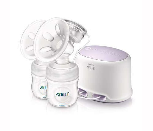 Philips Avent Scf334/02 Comfort Twin Electric Breast Pump By Philips Avent