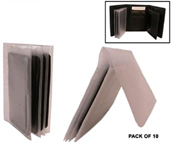 Bond Street, Photo holder-Plastic Wallet Insert -Pack of 10