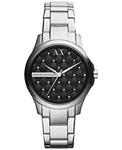 Armani Exchange AX5226 Black Quilted Dial Bracelet Women's Watch