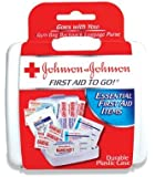 Johnson & Johnson First Aid To Go! Mini First Aid Kit