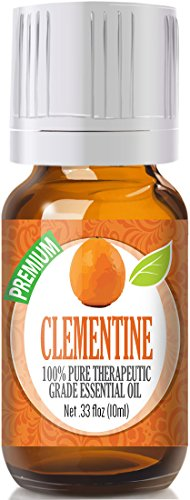 Clementine 100% Pure, Best Therapeutic Grade Essential Oil - 10ml