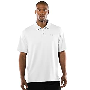 Under Armour Men's UA Tactical Performance Polo Medium White