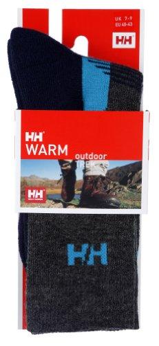 Helly Hansen - Calzini da trekking, Grigio (grigio), Size 7-9