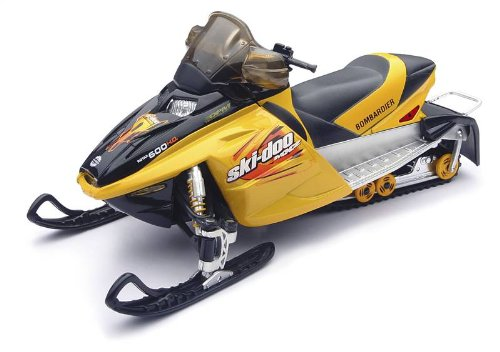 NEW RAY SKI-DOO MXZ REV SNOWMOBILE TOY
