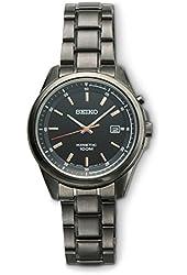 SEIKO Black Ion Kinetic Watch