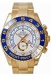Men's 18K Gold Rolex Yachtmaster II M…