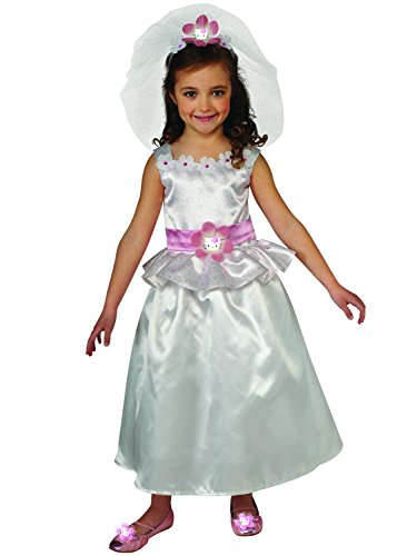 Rubies Hello Kitty Bride Costume, Toddler Size