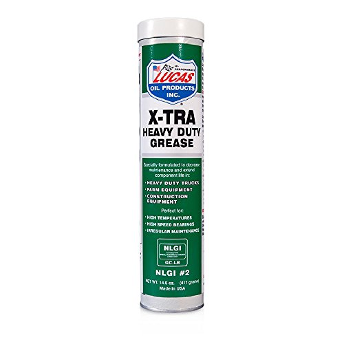 Lucas Oil 10301 X-Tra Heavy Duty Grease- 14.5 oz. (Trailer Grease Gun compare prices)