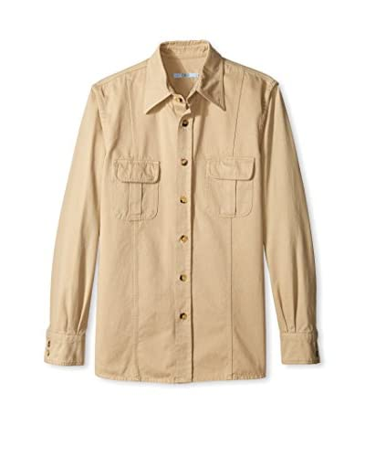Valentino Men's Point Collar Sportshirt