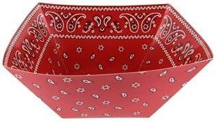 Bandana Paper Bowls