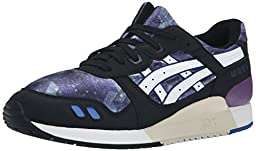 ASICS Gel Lyte III GS Running Shoe (Big Kid), Monaco Blue/White, 5.5 M US Big Kid
