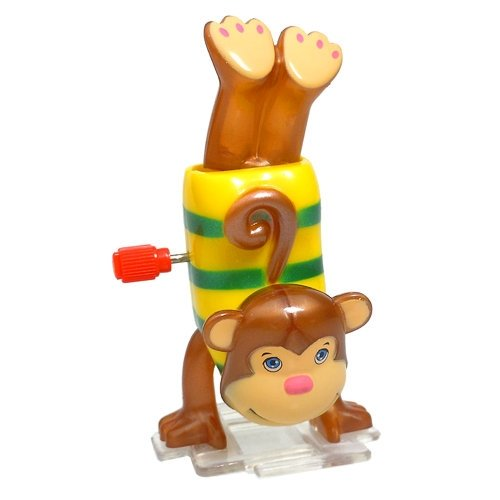 Wind-Up - Mikey the Handstand Monkey - 1