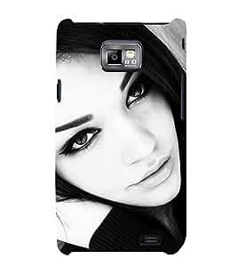 EPICCASE Sexy women Mobile Back Case Cover For Samsung Galaxy S2 (Designer Case)