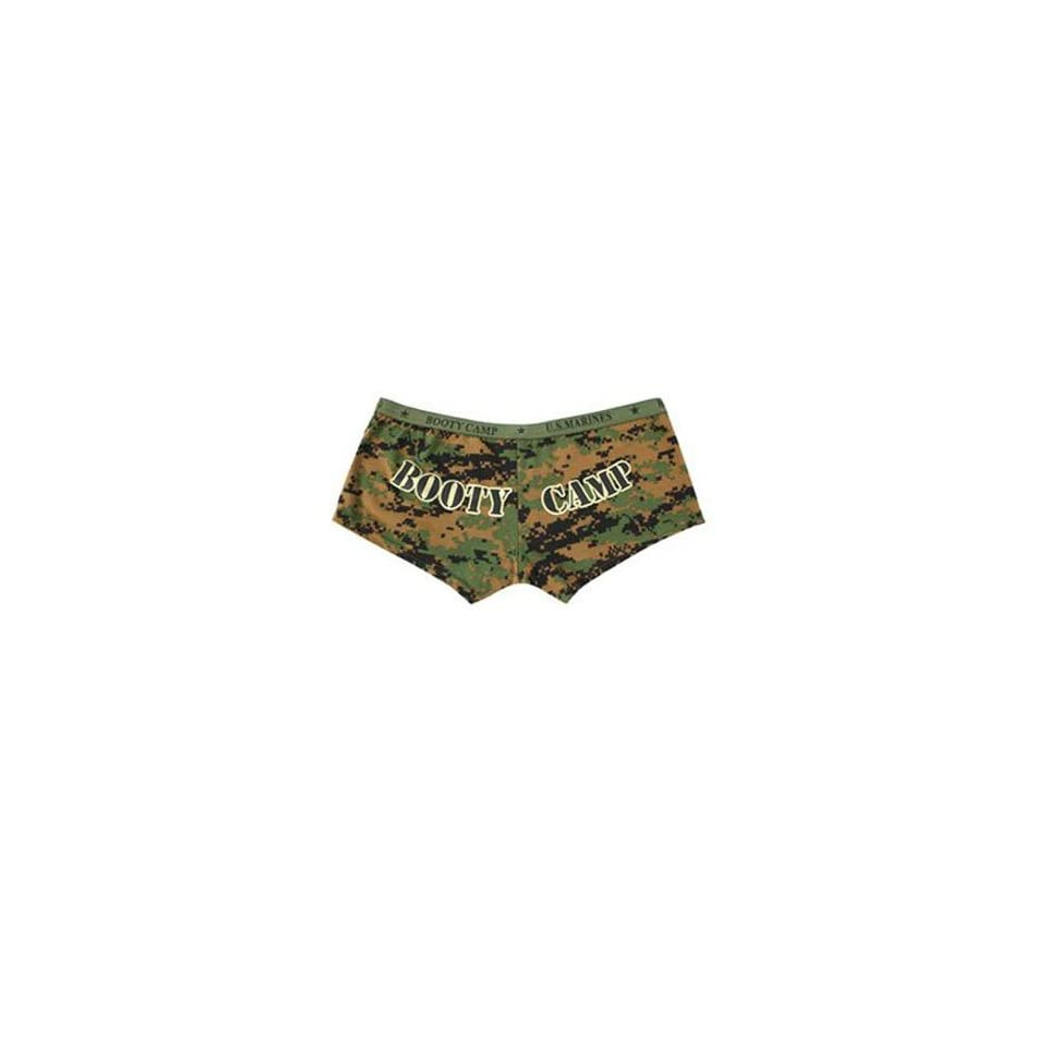 521358e42 Rothco Ladies Booty Camp Booty Shorts Woodland Digital Large  Misc ...