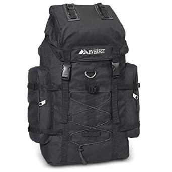 Everest Jungle Camo Hiking Pack BLACK