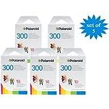 5er Pack Polaroid PIF-300 Sofortbildfilm für die Polaroid 300 Sofortbildkamera