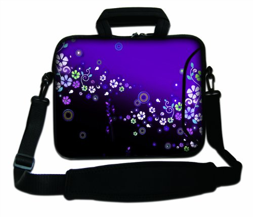 "17"" 17.3"" 17.4"" Inch Neoprene Notebook Laptop Soft Bag Sleeve Case Cover Pouch With Adjustable Shoulder Strap For Apple Macbook Pro 17 /Hp Envy 17 Series/ Pavilion Dv7/Dv7T/G72/G72T/G7T/M7 Series / Dell Inspiron 17 17R I17Rm I17Rv Xps 17 Series/Asus Rog G front-634877"