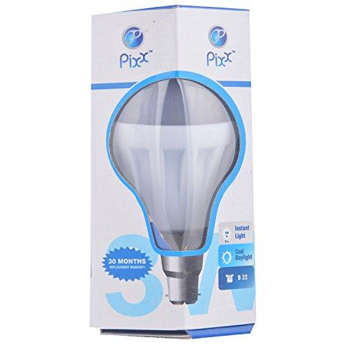 Pixx-3W-Aluminum-B22-LED-Bulb-(White)