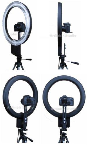 Ardinbir-Photography-500W-5400K-Macro-Ring-Light-Lamp-for-Canon-Nikon-Panasonic-Sony-Leica-Olympus-SLRDSLR-Cameras-Photo-Studio-and-Portrait