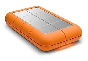 LaCie Rugged XL Disque dur externe de bureau en aluminium eSATA 3Gb/s Hi-Speed USB 2.0 1 To