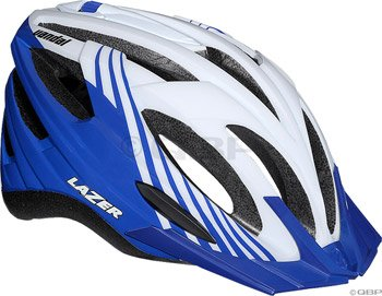 Buy Low Price Lazer Vandal Helmet with Visor: White/Blue (BLU2005664884)