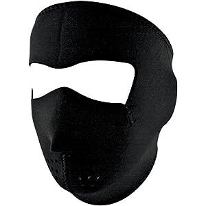 Amazon.com: Zan Headgear Black Men's Full Face Mask Cruiser Motorcycle
