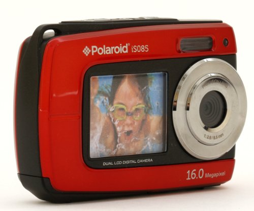 Polaroid Is085-Red 16 Digital Camera With 2.7-Inch Lcd (Red)