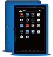 """BTC+ UK 7"""" Quad Core Google Android 4.4 Tablet PC (8GB HDD, IPS 1024x600 Display, Bluetooth, WIFI, USB) - Blue from British Tablet Company"""
