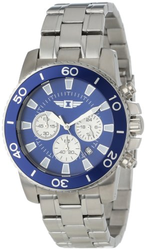 I By Invicta Men's 43619-002 Chronograph Stainless Steel Watch