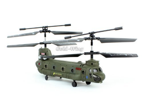 Syma 16.5CM S026G 3.5Ch 3 Channel Mini Chinook RC Helicopter Gyro