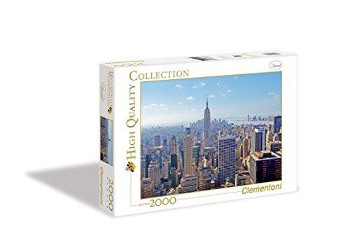 Clementoni 32544.3 - Puzzle New York, 2000 teilig