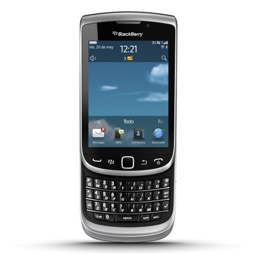 BlackBerry Torch 9810 Sim Free Smartphone - Zinc Grey